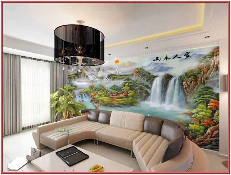 Modern 3d Wallpaper For Living Room In India
