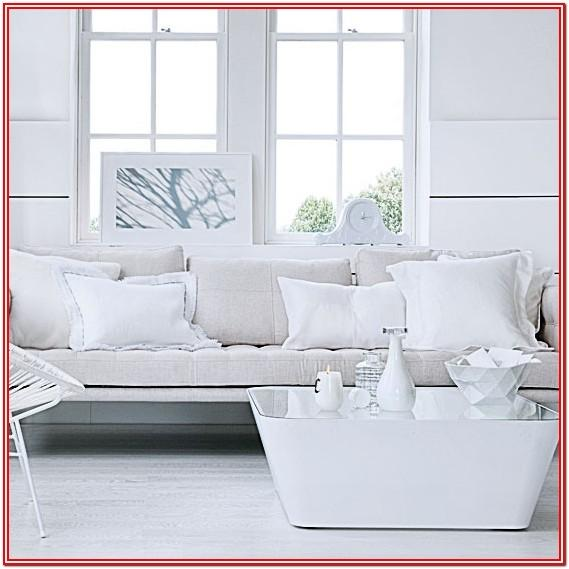 Modern All White Living Room Ideas
