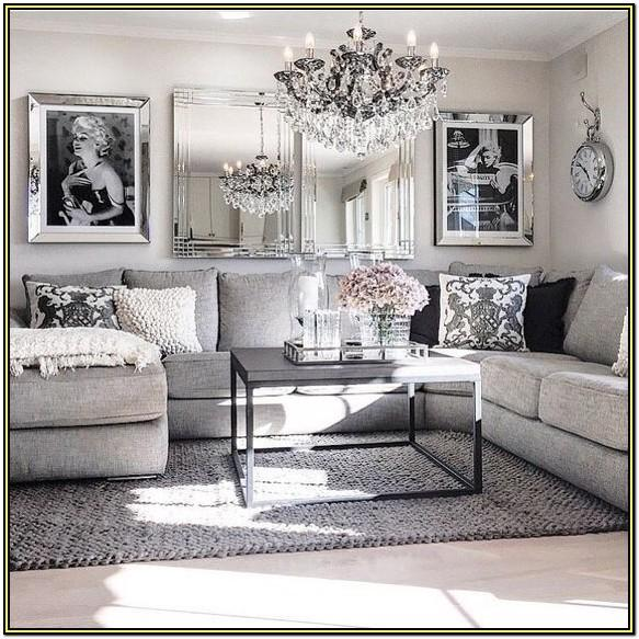 Modern Black White And Grey Living Room Ideas