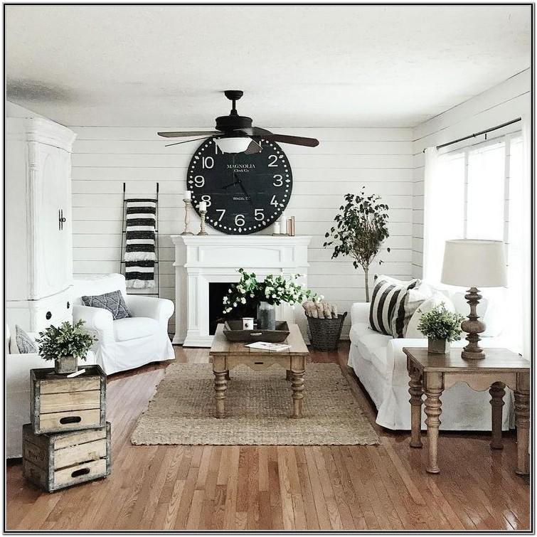 Modern Farmhouse Living Room Design Ideas