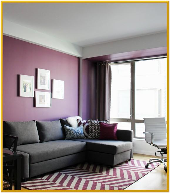 Modern Light Purple Living Room