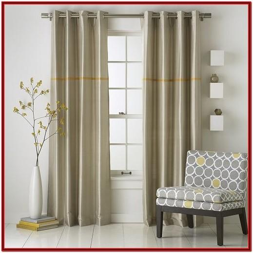 Modern Living Living Room Curtain Ideas