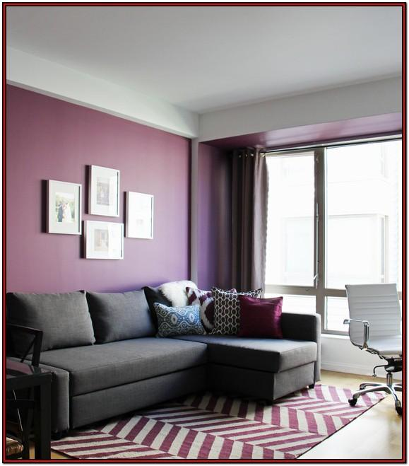 Modern Purple Couch Living Room Ideas