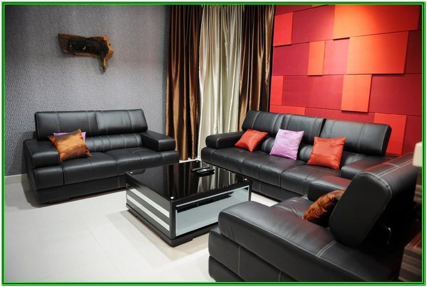 Modern Red Couch Living Room