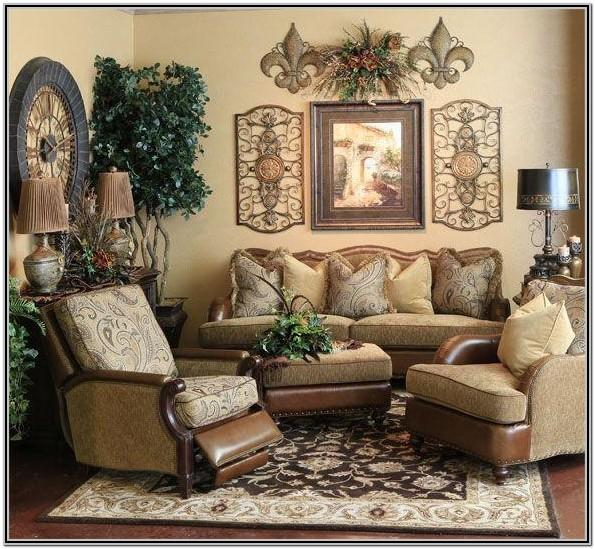 Modern Tuscan Living Room Decor