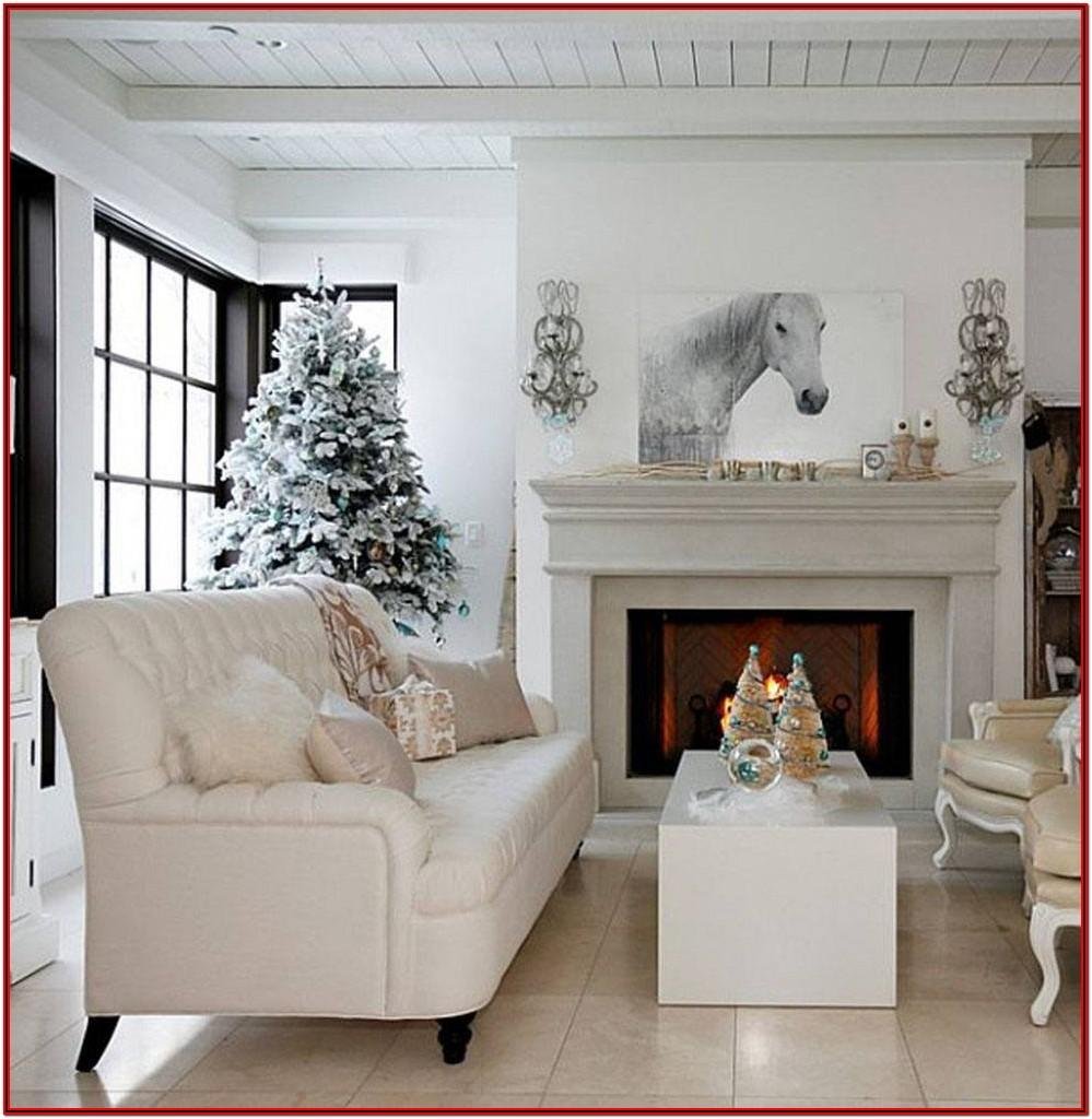 Modern Winter Living Room Decor