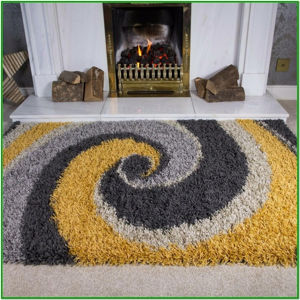 Mustard Yellow Rug Living Room