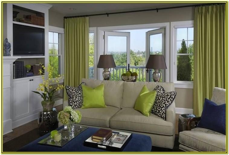 Navy And Ivory Living Room Ideas