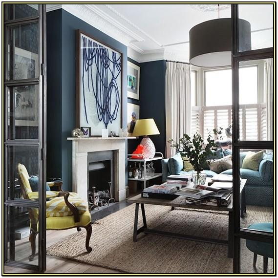Navy Blue And Silver Living Room Ideas