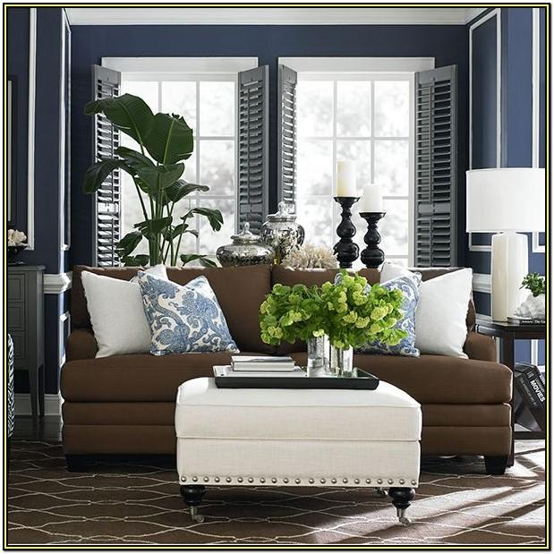 Navy Blue And Tan Living Room Ideas