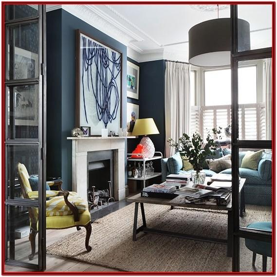 Navy Blue Grey And Blue Living Room Ideas