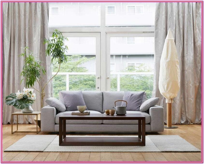 Neutral Living Room Curtain Trends 2019