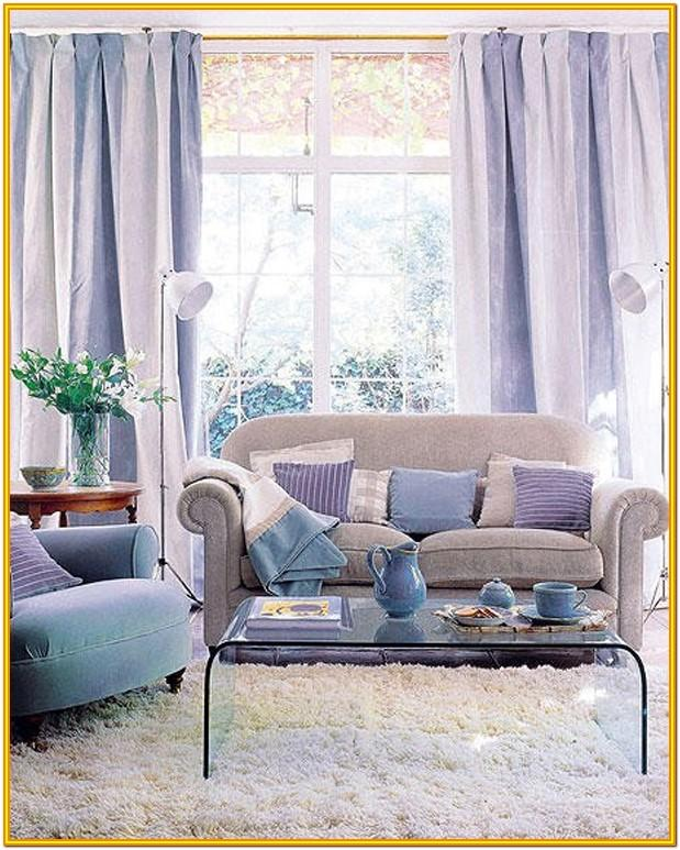 Pastel Purple Light Purple Living Room