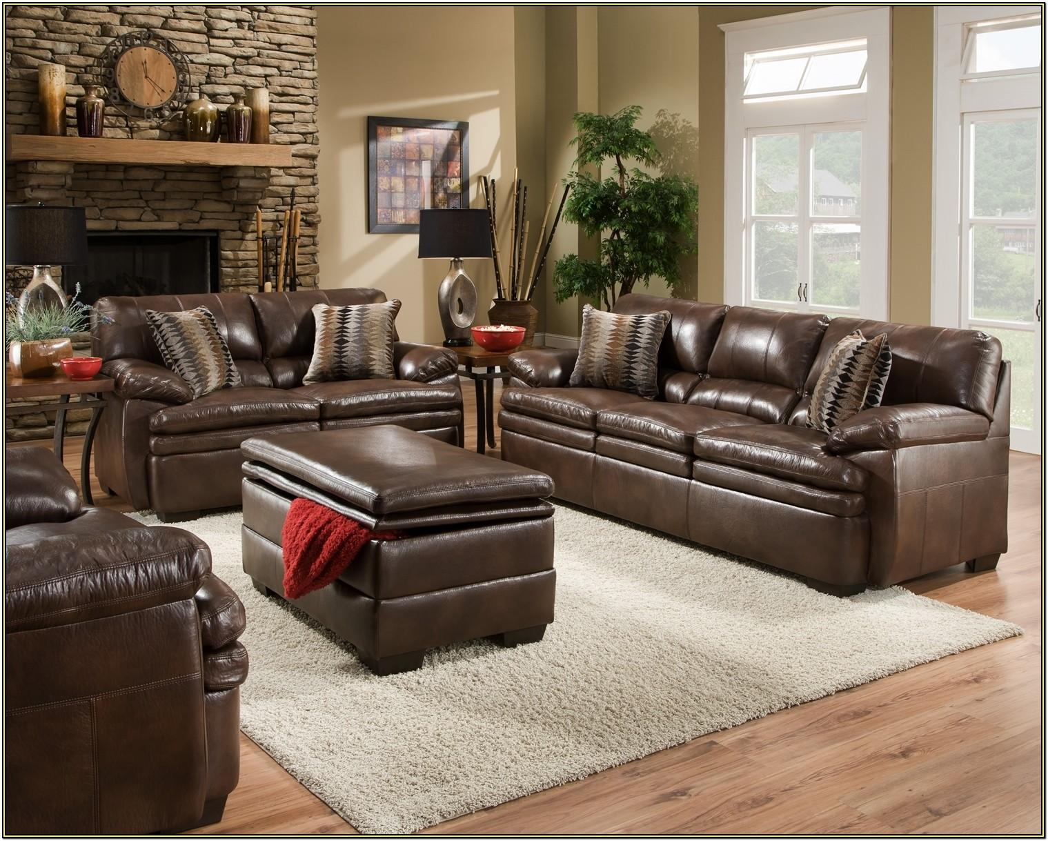 Photos Of Living Rooms With Brown Leather Furniture