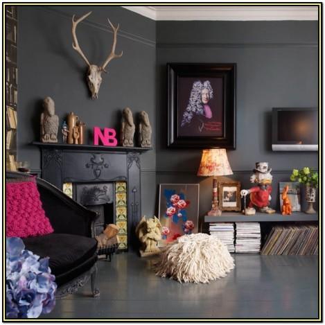 Red Boho Living Room Ideas