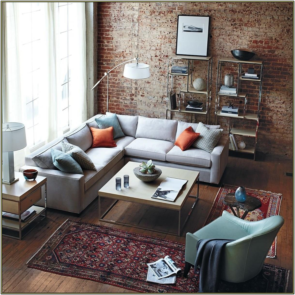 Red Brick Wall Living Room Ideas