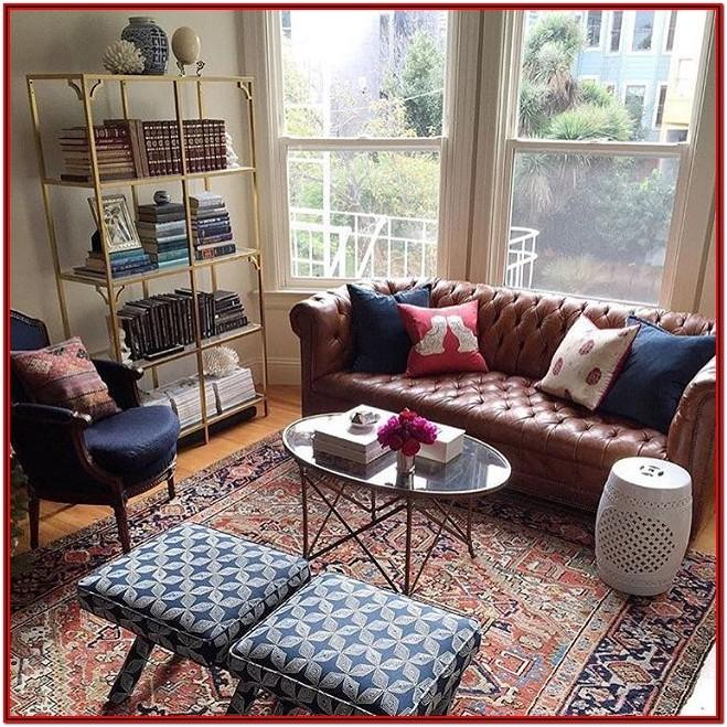 Red Chesterfield Sofa Living Room Ideas