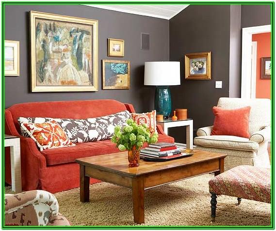 Red Couch Living Room Ideas
