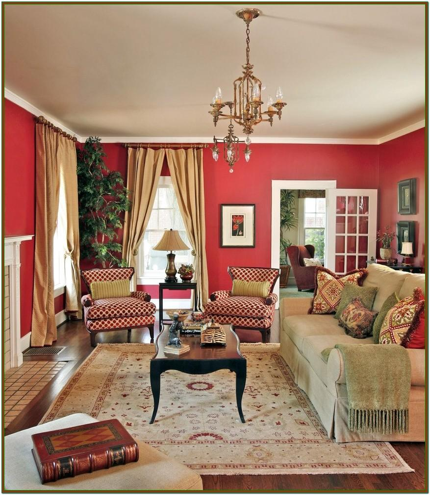Red Wall Art For Living Room