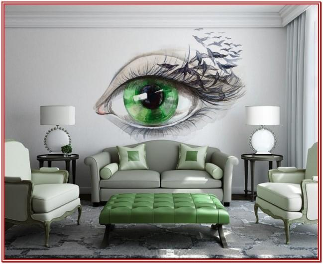 Room Decoration 3d Wall Painting Designs For Living Room