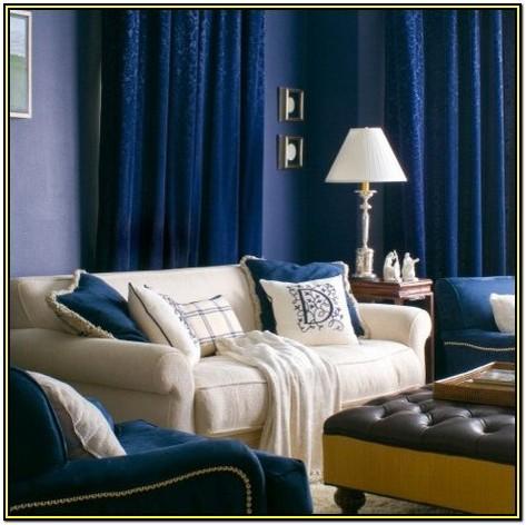 Royal Blue And Black Living Room Ideas