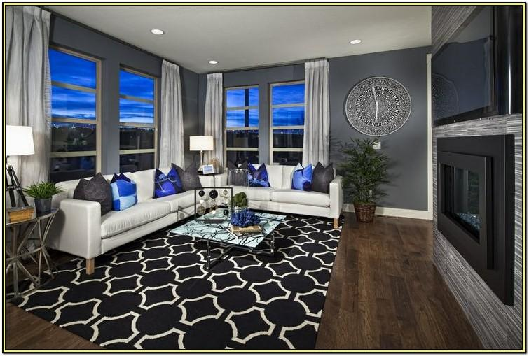 Royal Blue And Silver Living Room Ideas