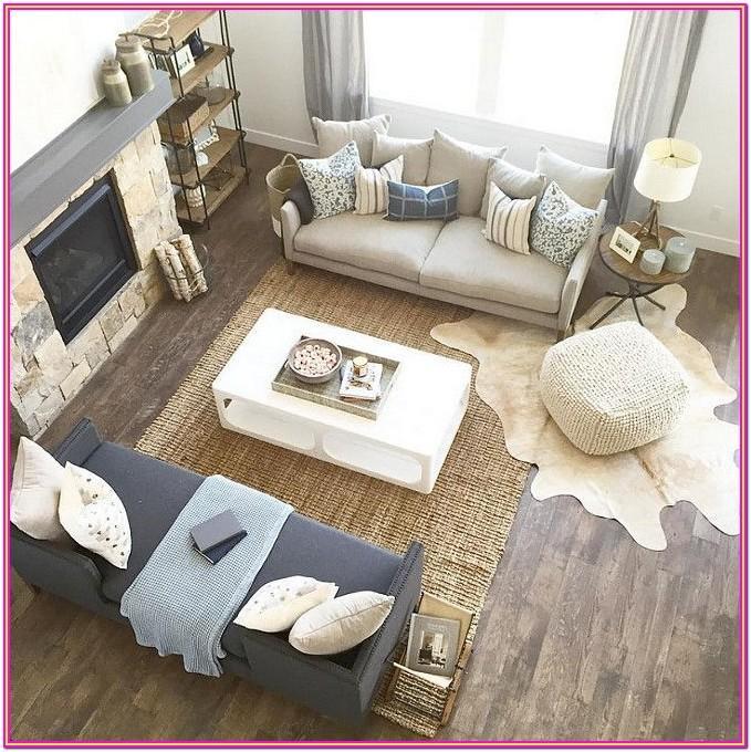 Rustic Farmhouse Style Living Room Furniture