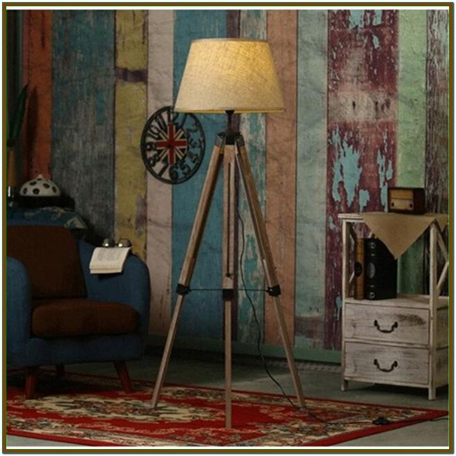 Rustic Floor Lamps For Living Room