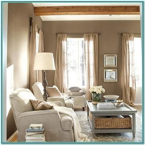 Rustic Taupe Living Room