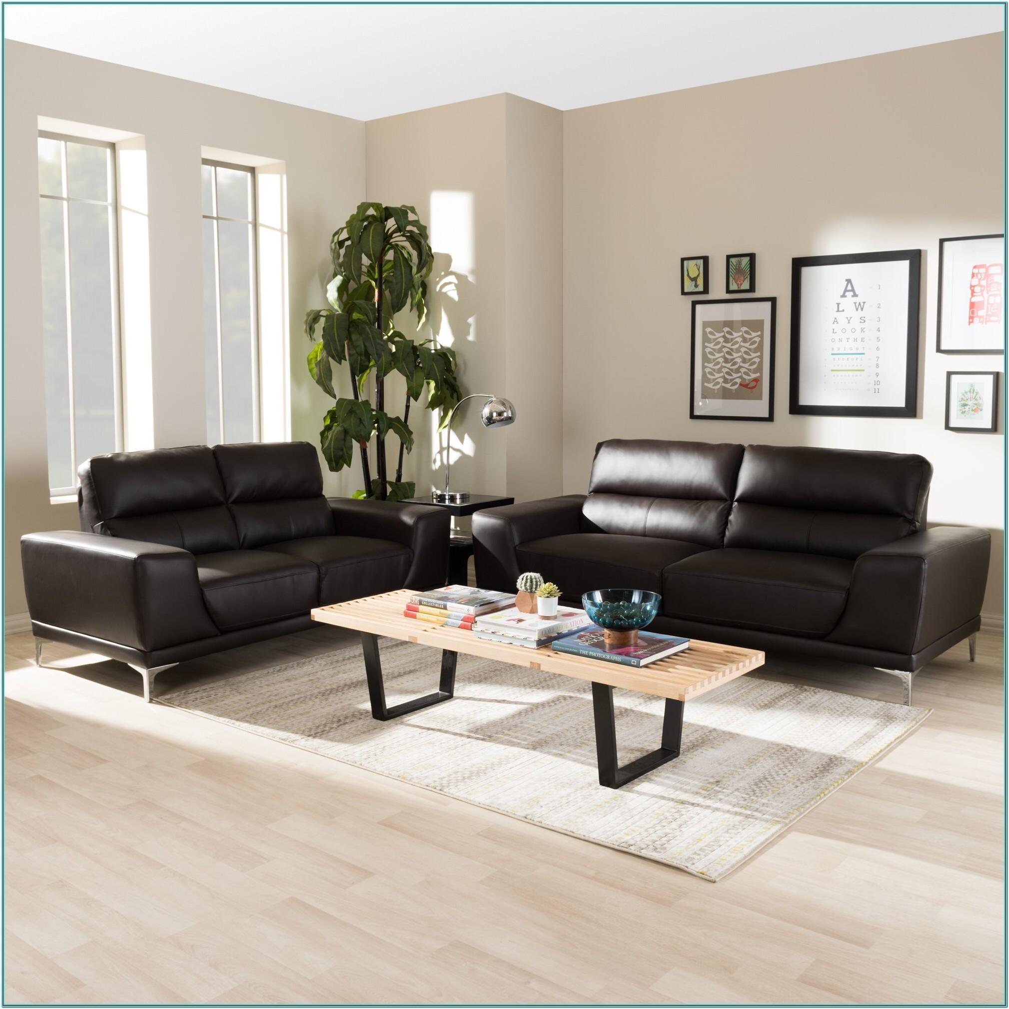 Saphira 2 Piece Living Room Set