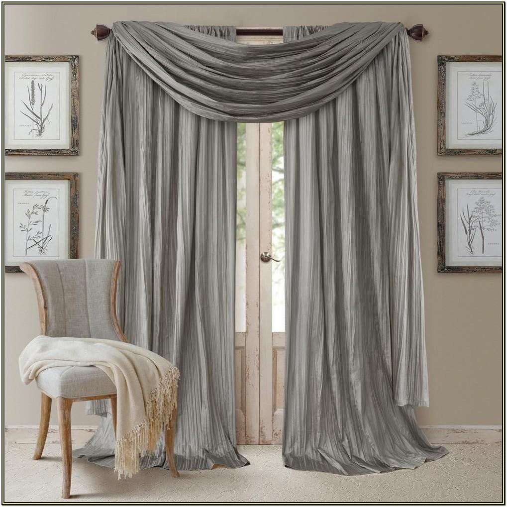 Scarf Curtains For Living Room