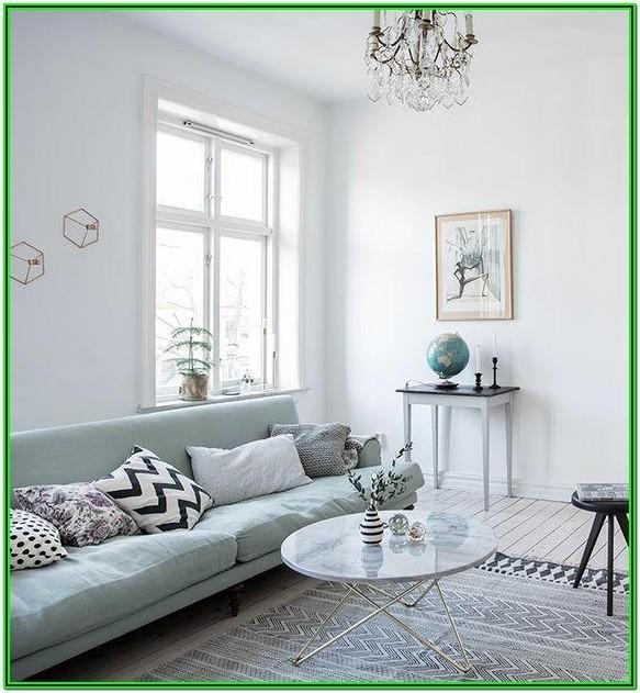 Seafoam Green Sofa Living Room