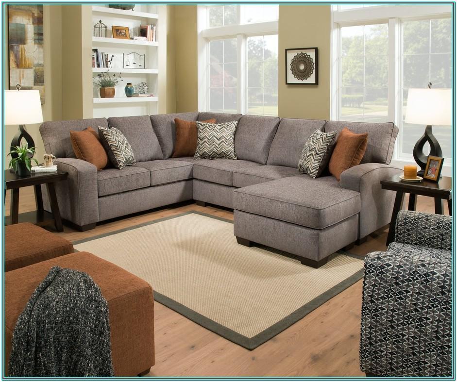 Simmons Pasadena Tan Living Room Sectional