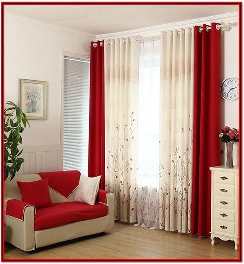 Simple Modern Living Room Window Treatments