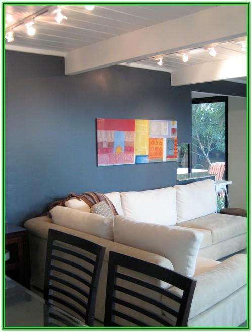 Slate Blue Paint Living Room