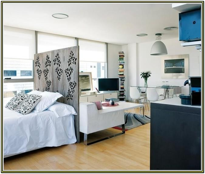 Small Bedroom And Living Room Combined