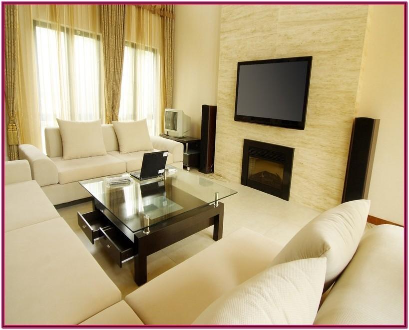 Small Dining And Living Room Setup