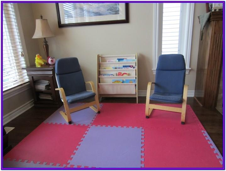 Small Home Daycare Setup In Living Room