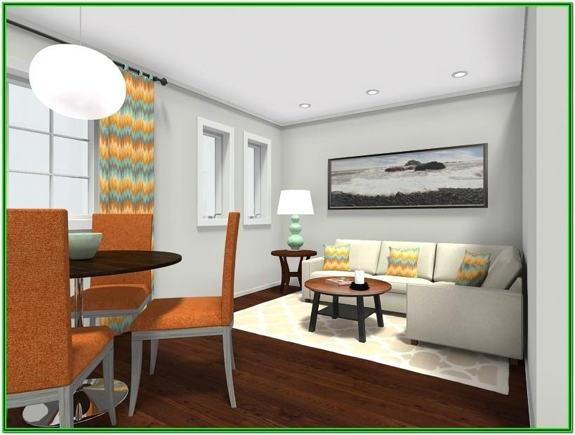 Small Rectangular Living And Dining Room Layout