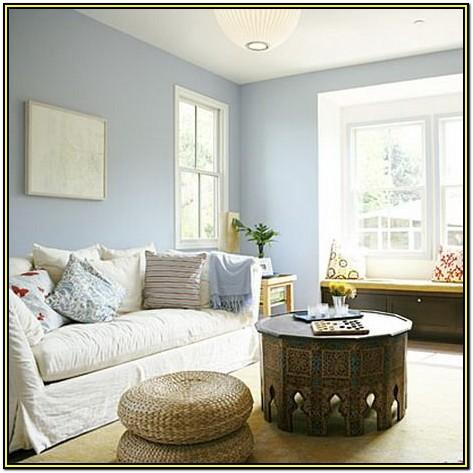 Soft Blue Living Room Paint Colors