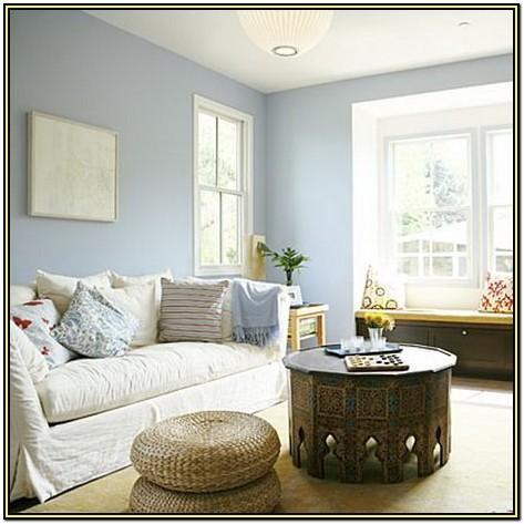 Soft Blue Living Room Paint Colors