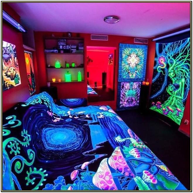 Stoner Hippie Living Room Decor