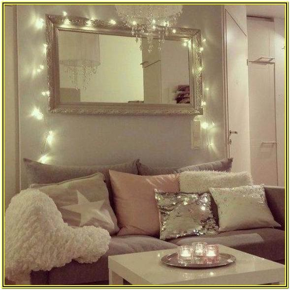 String Lights Light Decoration Ideas For Living Room
