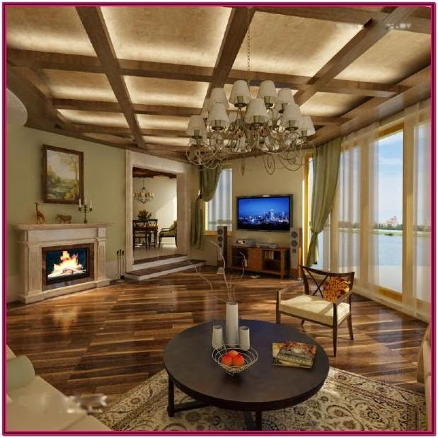 Suspended Ceiling Designs For Living Room