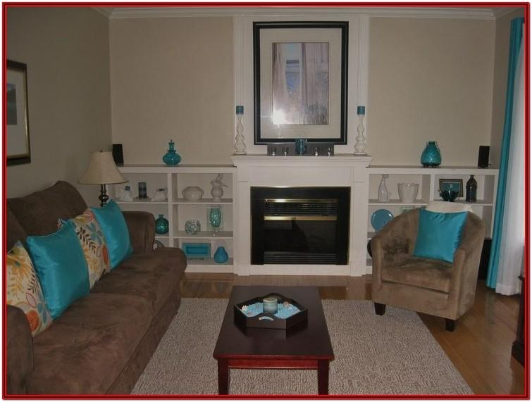 Tan And Teal Living Room Ideas