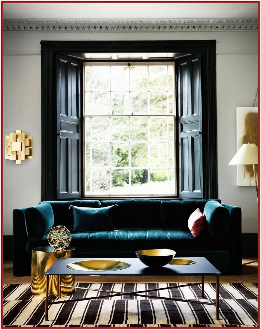 Teal And Gold Living Room Decor