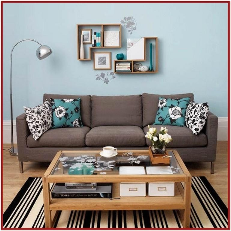 Teal And Gold Living Room Ideas