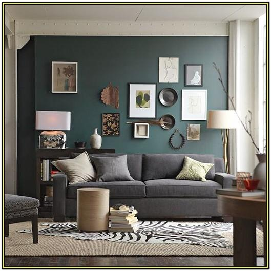 Teal And Grey Living Room Walls