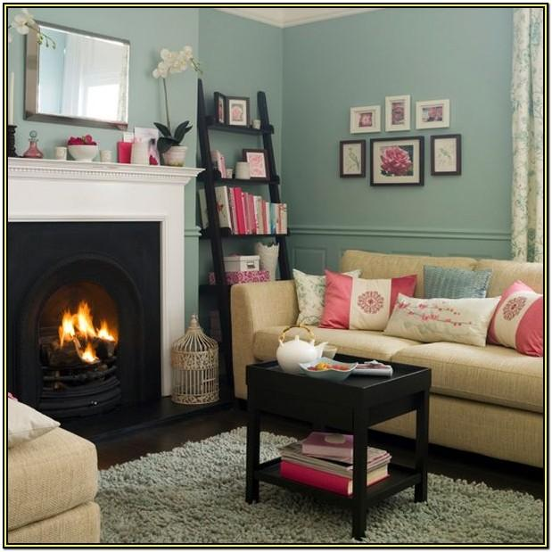 Teal And Pink Living Room Ideas