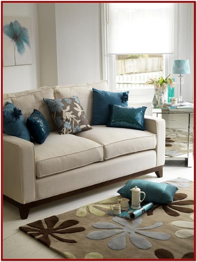 Teal Blue Living Room Accessories